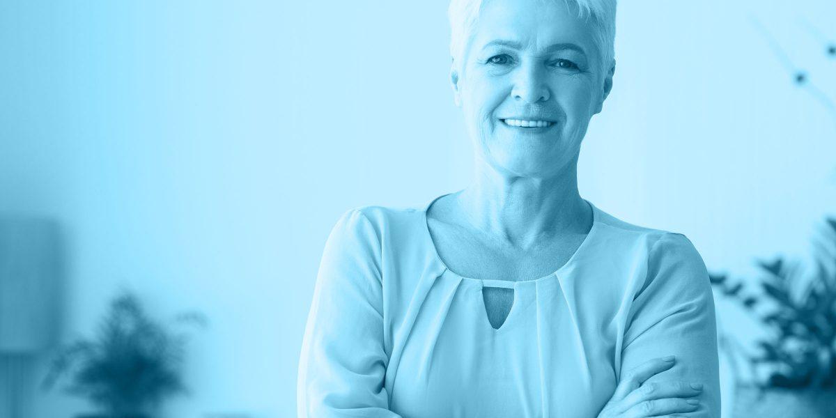 Lebenphase Frau im gesunden Alter